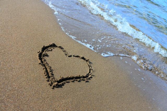 海辺のプロポーズ