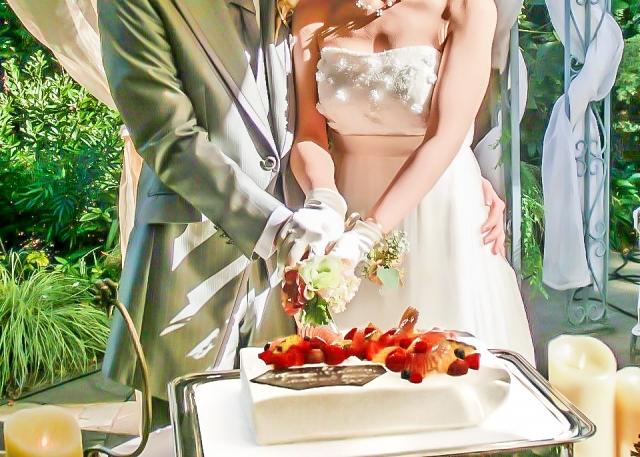 理想の相手との結婚式